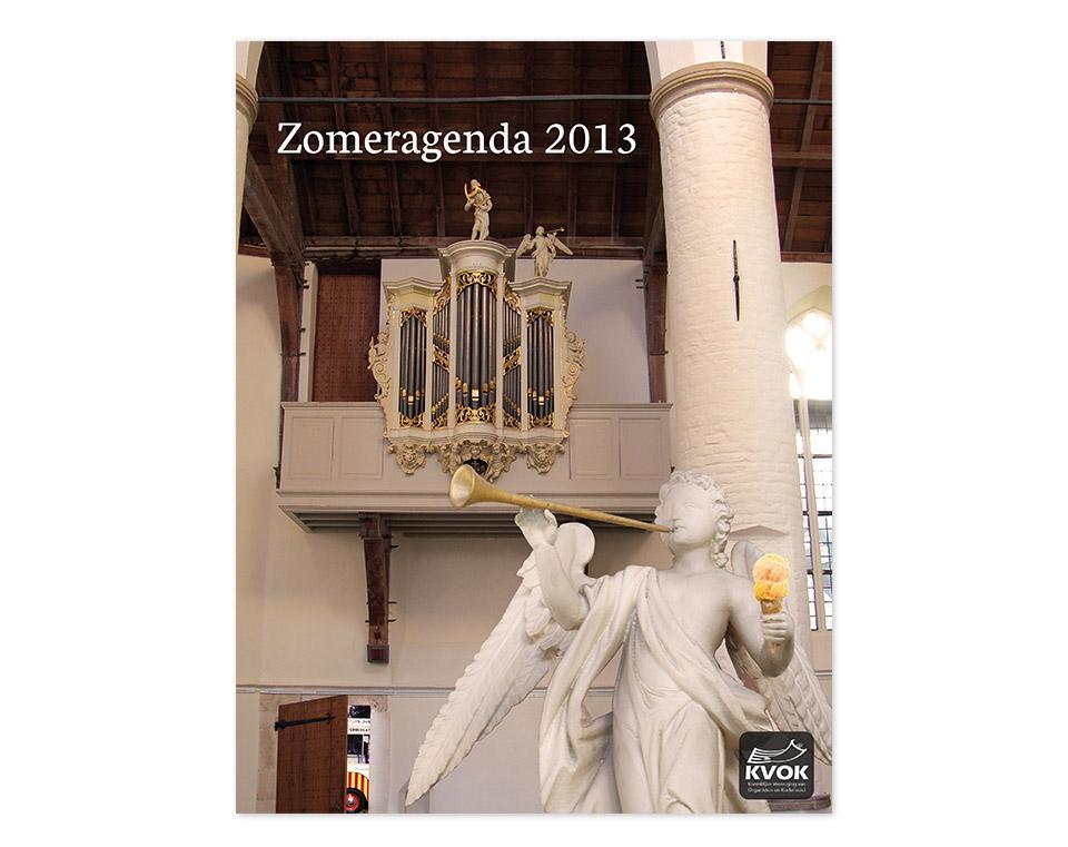 Ontwerp Zomeragenda orgelconcerten