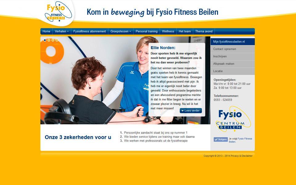 Ontwerp www.fysiofitnessbeilen.nl
