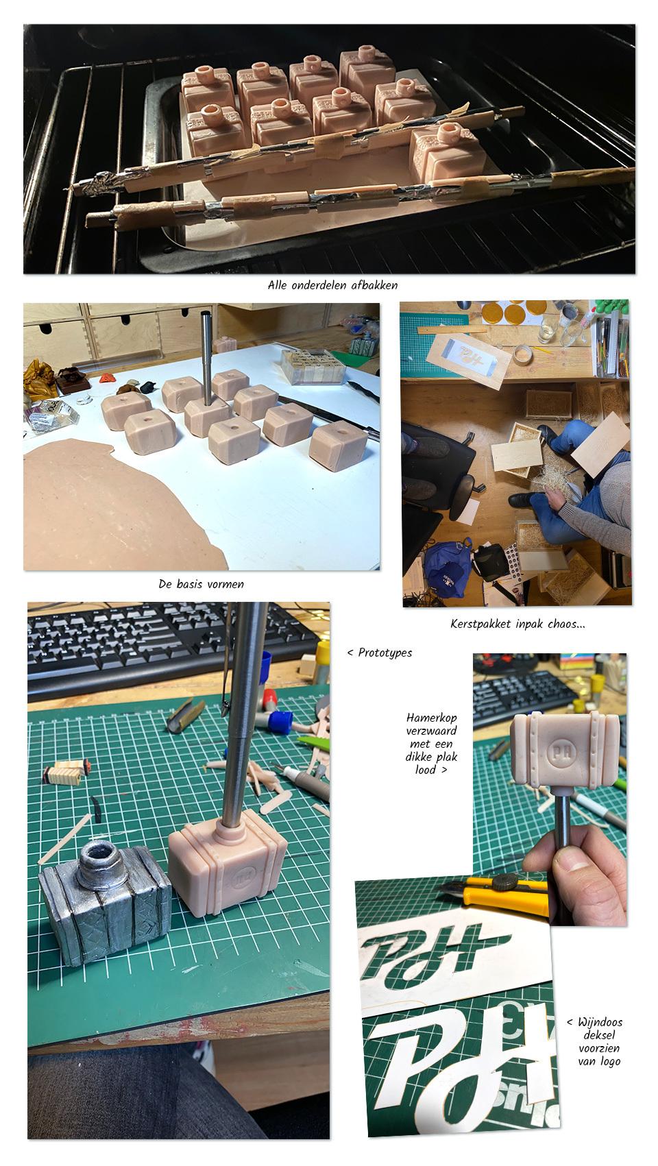 Hammerschmidt kerstpakket making of