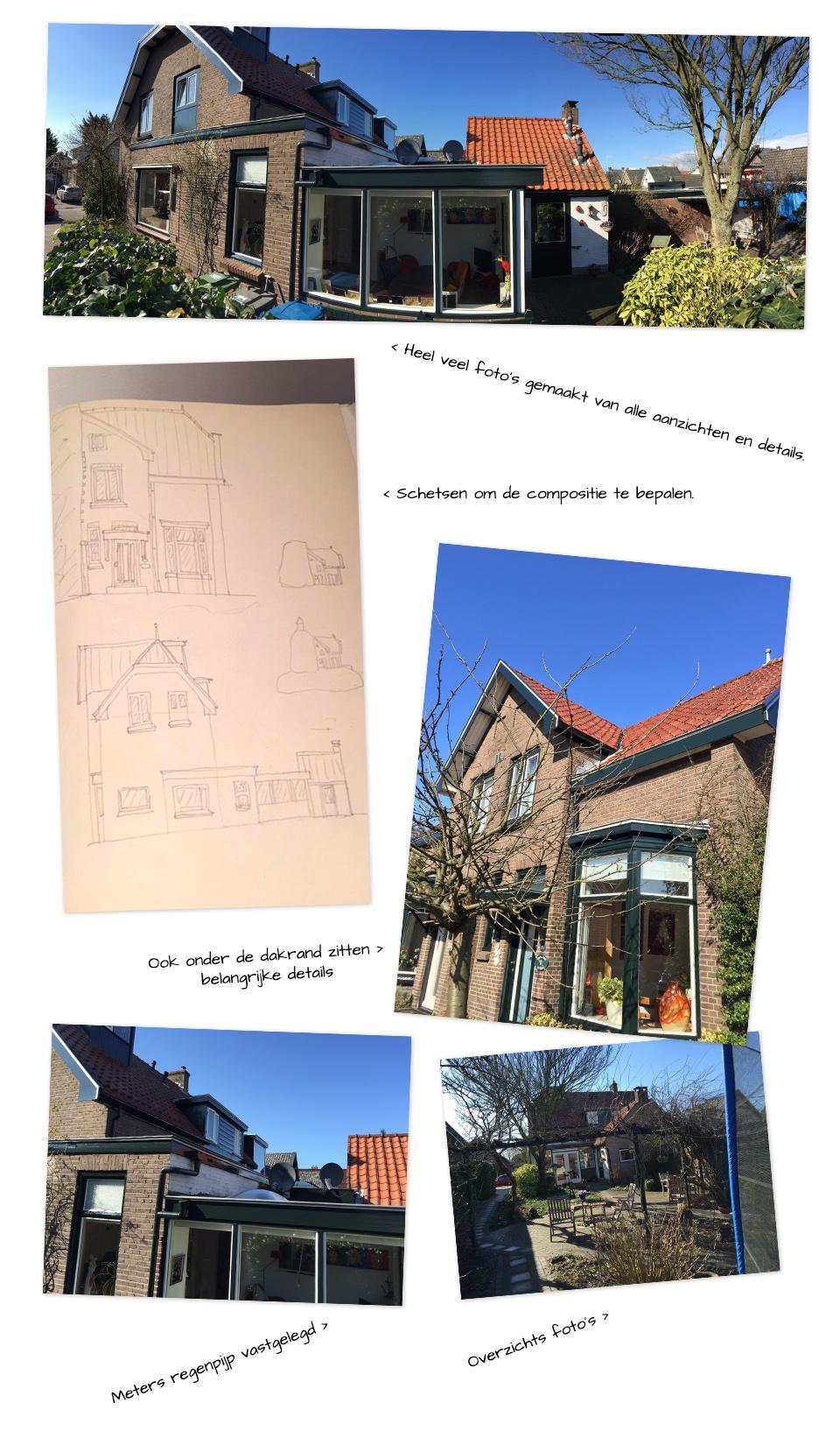 Foto's van het huis al referentie
