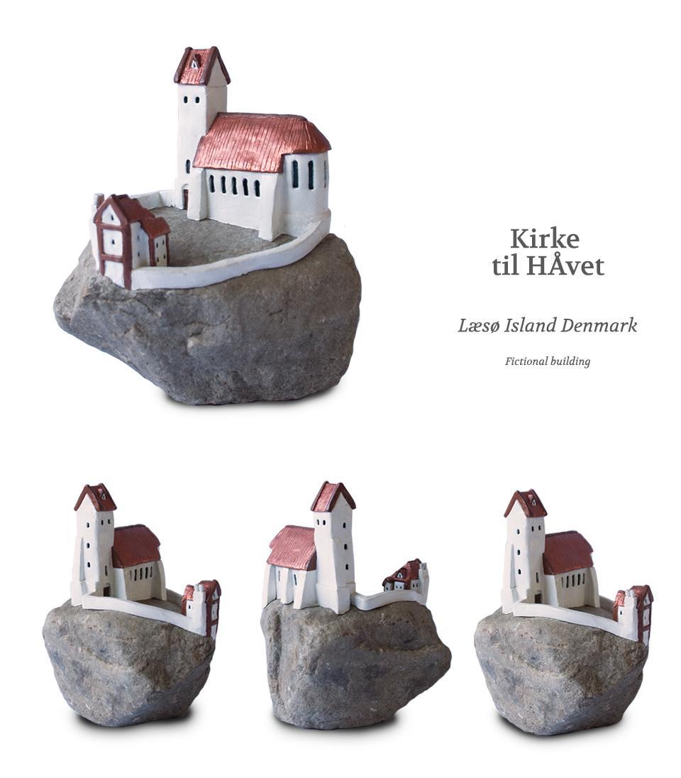 Kirke  til HÅvet Klei kunstwerk