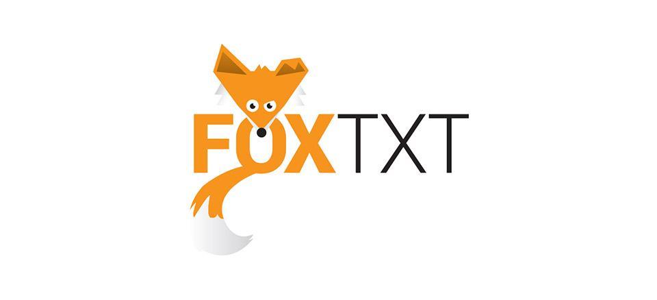 Logo ontwerp FOX TXT