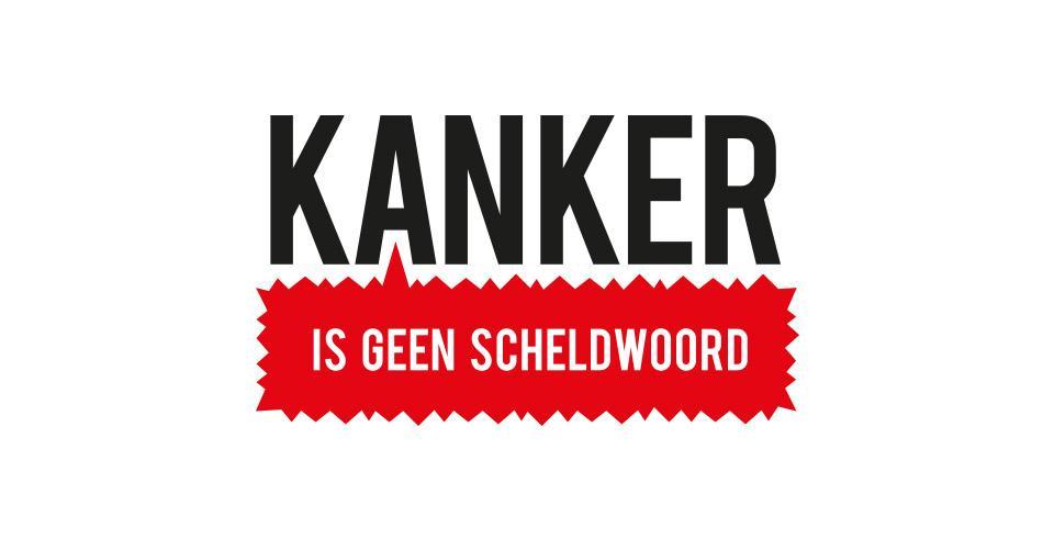 Ontwerp logo Kanker is geen scheldwoord