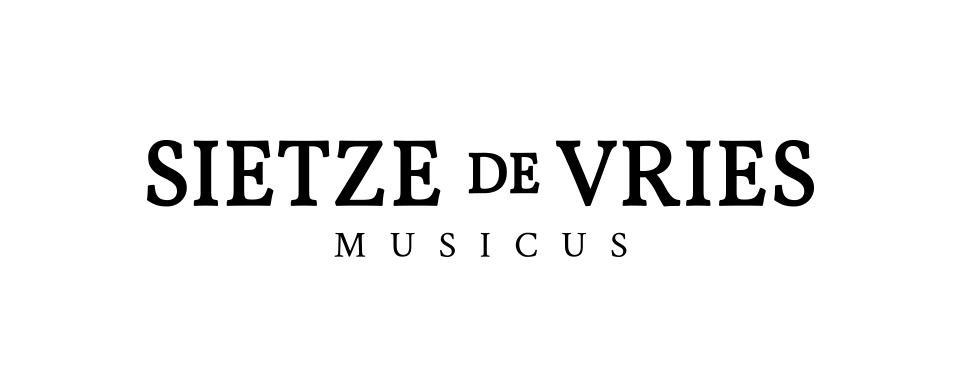 Logo ontwerp Sietze de Vries Musicus