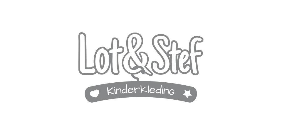 Ontwerp logo Lot & Stef kinderkleding