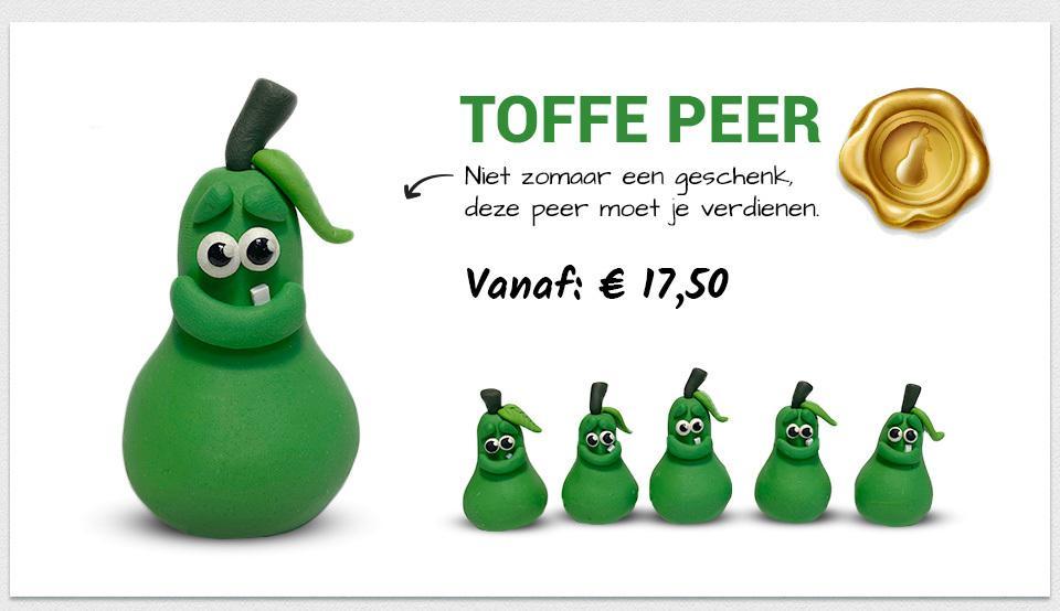 Martin Pottjewijd unieke handgemaakte toffe peren