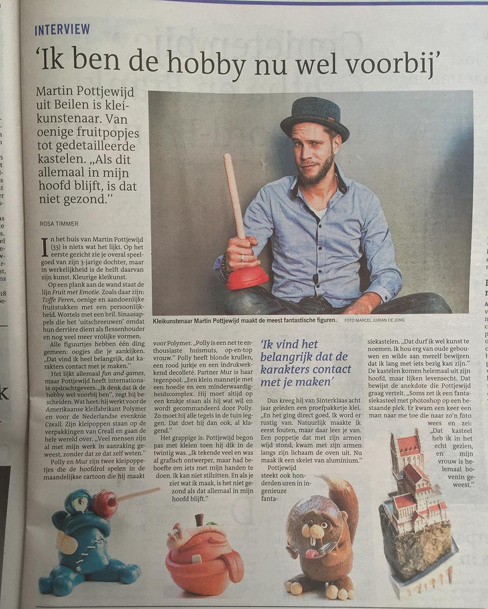 Martin Pottjewijd Dagblad van het Noorden