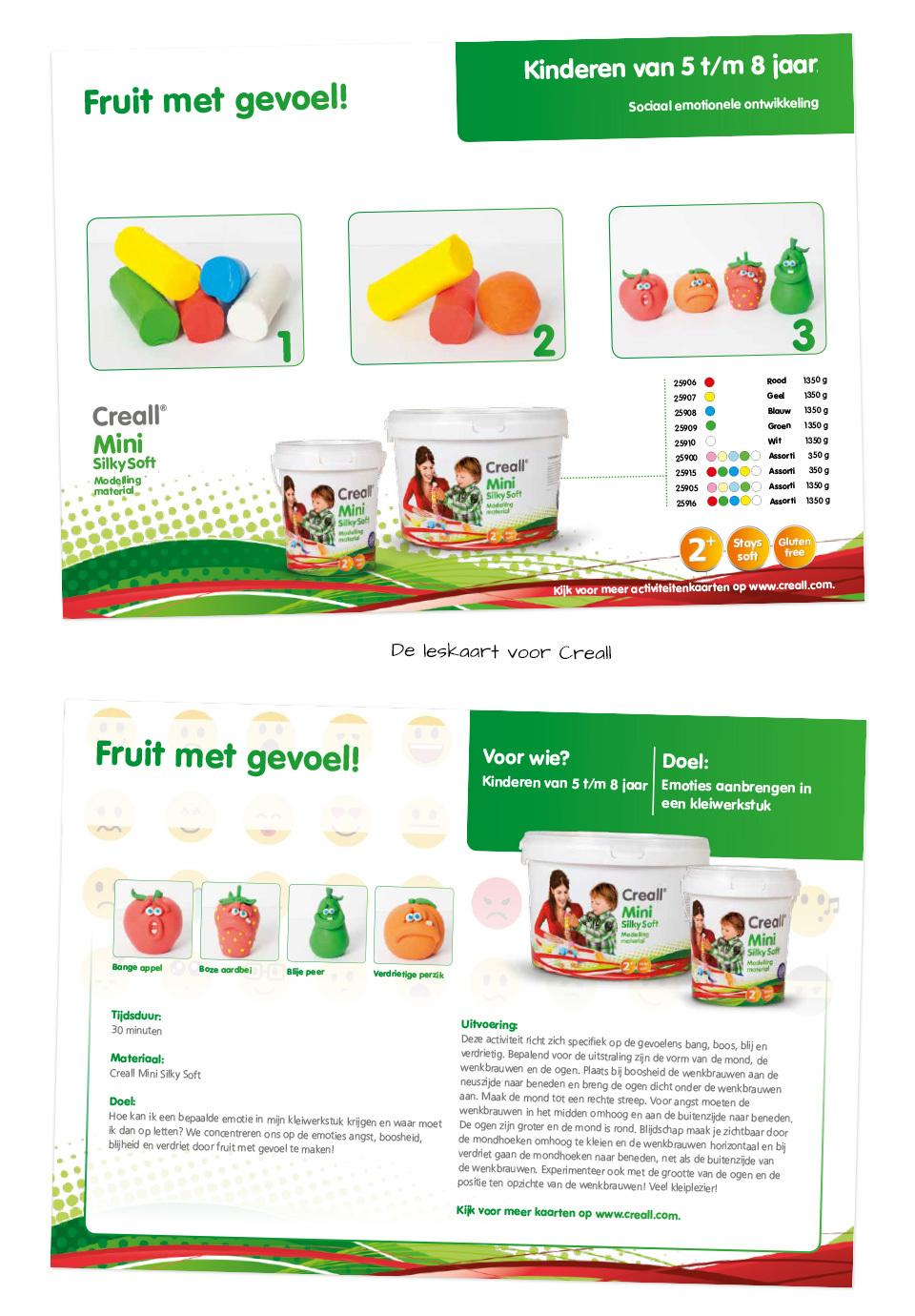 Leskaart fruit met gevoel!