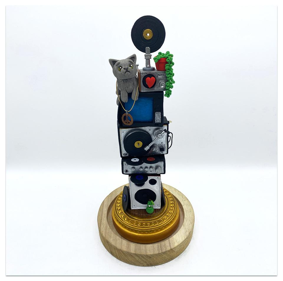 Martin Pottjewijd Kleikunst - Music Vibes