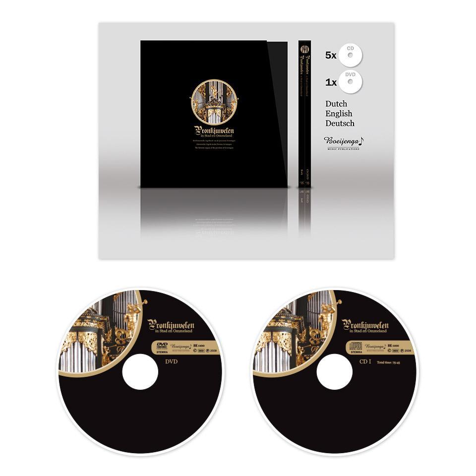 Ontwerp boek en cd's