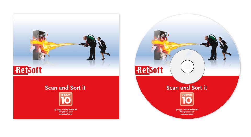 Ontwerp cd hoesje en cd opdruk