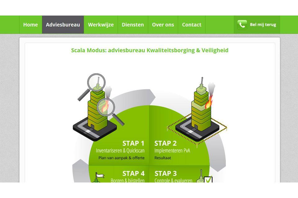 Website ontwerp www.scalamodus.nl