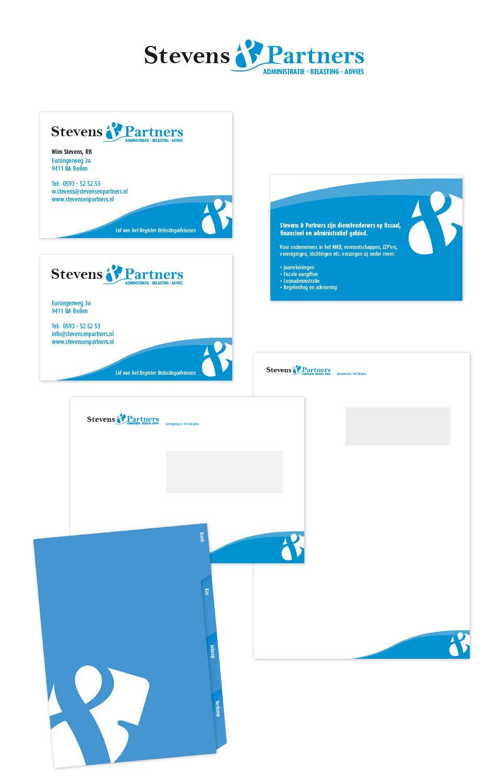Ontwerp huisstijl Stevens & Partners