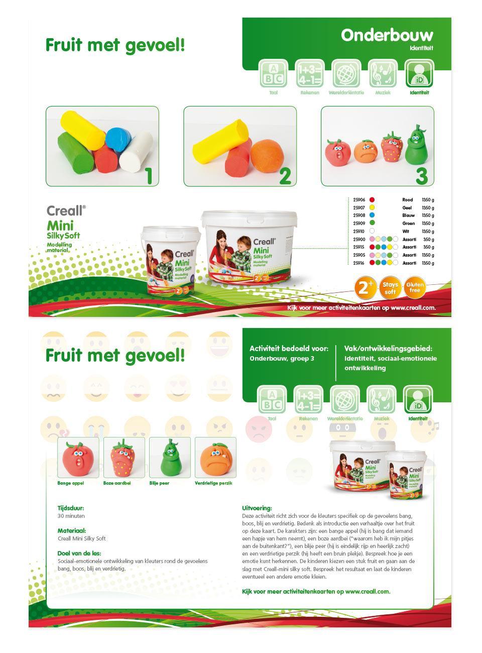Voorbeeldkaarten workshop fruit met emoties