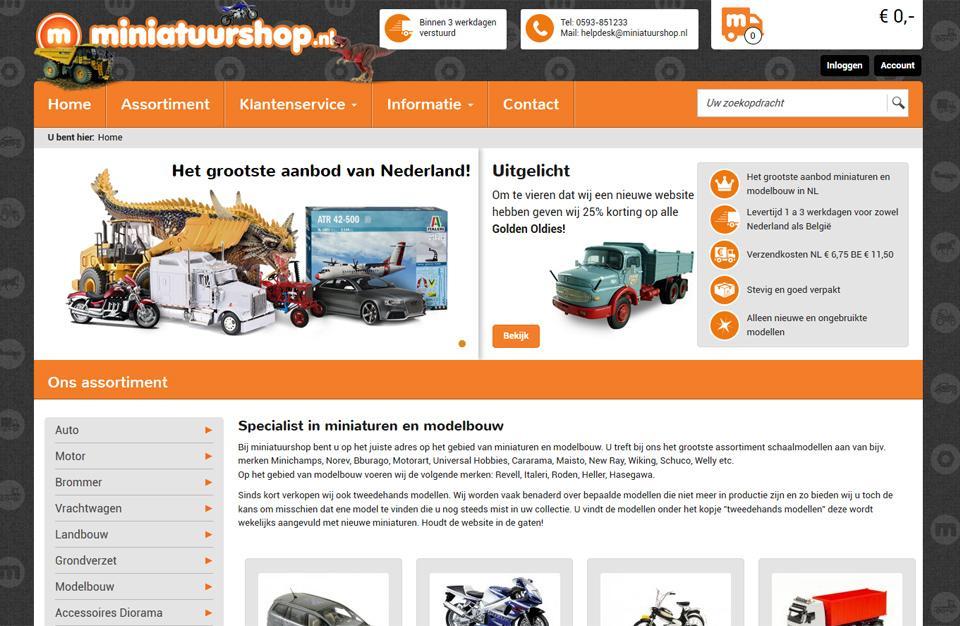 Webshop ontwerp